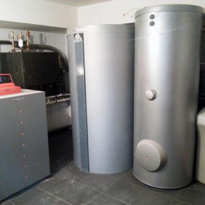 Pompa Vitocal 300-G z NC-box, Vitodens 200-W, Vitovent 300